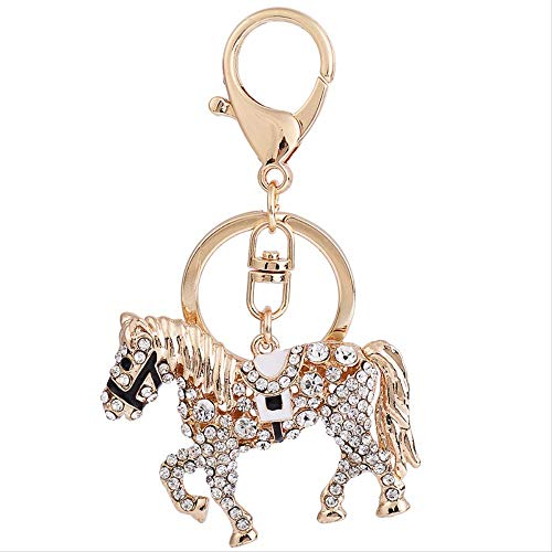 Tangminyidi Auto Schlüsselanhänger Wasserbohrer Tierkreis Schlüsselanhänger kreative Schlüssel Schlüssel Schlüssel Schlüssel kleine Anhänger Mode Tasche Anhänger -