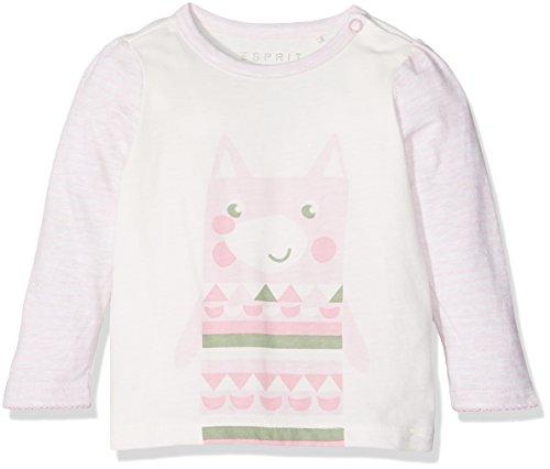 Esprit Kids Unisex Baby T-Shirt, Rosa (Pastel Pink 695), One size (Herstellergröße: 62)