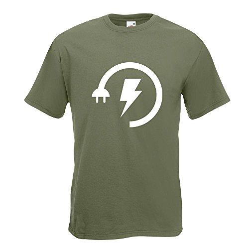 KIWISTAR - Energy Low - Electricity Boost T-Shirt in 15 verschiedenen Farben  - Herren