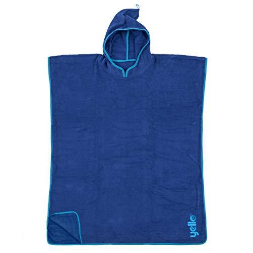 Yello Towel Poncho blau Einheitsgröße