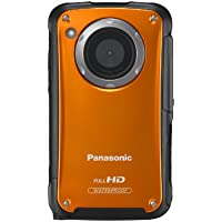 Panasonic HM-TA20 HD Mobile Camera - Orange (8MP Stills) 3-inch Touchscreen (Tripod Included)