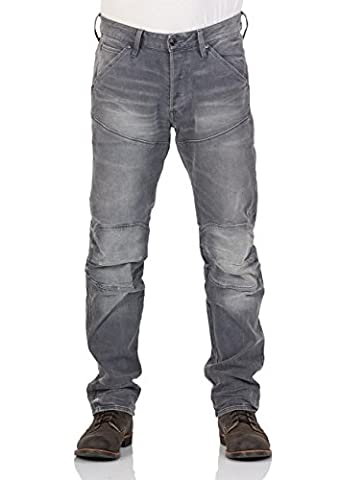 G-Star Herren Jeans 5620 3D - Straight Fit - Grau - Light Aged, Größe:W 38 L 34;Farbe:Light Aged (424)
