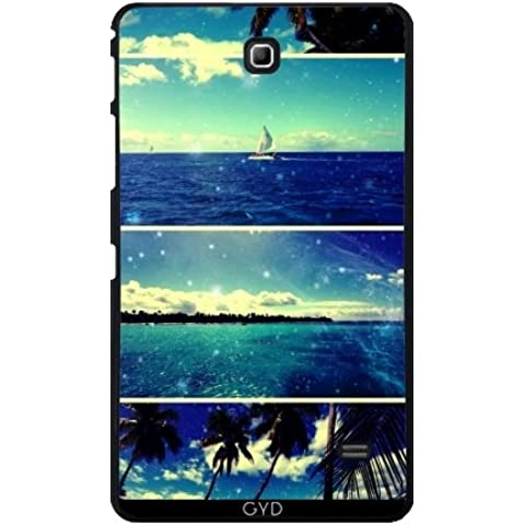 Custodia per Samsung Galaxy Tab 4 (7 inch) - Collage Caraibi by Christine aka stine1 - Tropical Luce Di Notte