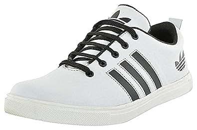 Scion Men's White Casual Canvas Sneaker Shoes