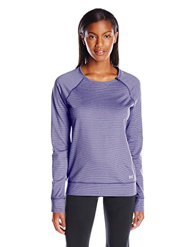Under Armour Women's Fitness T-shirt Und Tank Cold Gear Loose Crew Ua Coldgear® Cozy Zip Crew