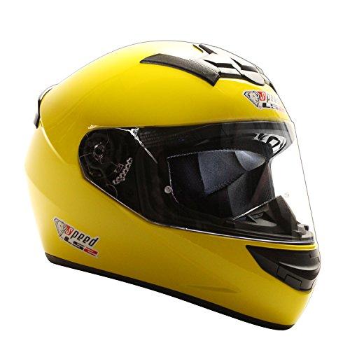 Speed Racewear LS2Rookie Ff352integrale Casco giallo-Edizione Speciale Kart & Moto Casco