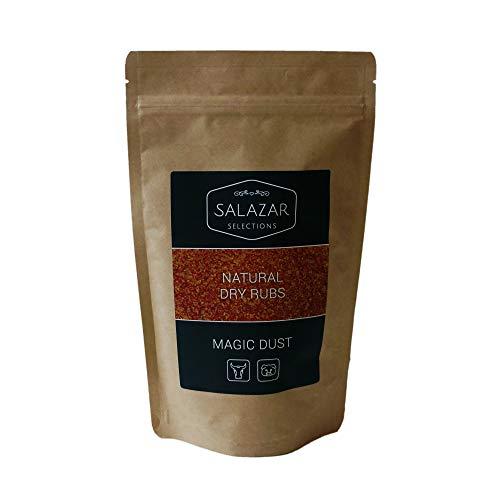 Salazar Magic Dust | 400g | BBQ Rub Grillgewürz | Marinade für Spare Ribs, Pulled Pork & Steaks | Natural Dry Rub