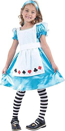 Kostüm Wonderland Karte Alice - Bristol Novelties Kids Fancy Dress Book Day Wonderland Dorothy Xmas Deck von Karten Alice Kostüm UK