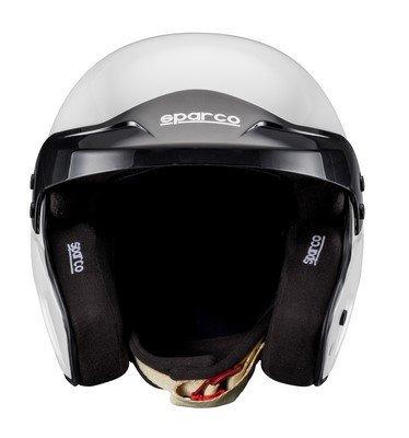 Sparco 0033532M Casco para Racing, Negro, M