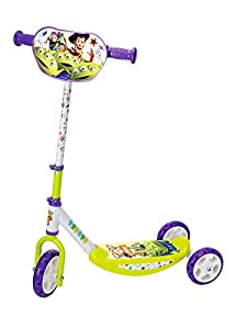 Smoby-Patinete 3 Ruedas Toy Story 750172, Color carbón