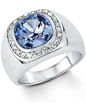 s.Oliver Damen-Ring 925 Sterling Silber rhodiniert