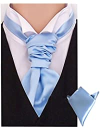 New Sendmart Mens Cravat and Matching Pocket Square