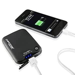 Veho Pebble Verto Portable Power Bank | 3,700mAh | Smartphone Charger | iPhone Charger | Samsung Charger | Battery pack - Charcoal Grey (VPP-201-CG)