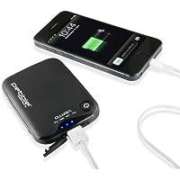 Veho Pebble Verto Power Bank | Portable Powerbank | Smartphone Charger| iPhone Charger | Samsung Charger | Battery Pack, 3,700mAh - Grey (VPP-201-CG)