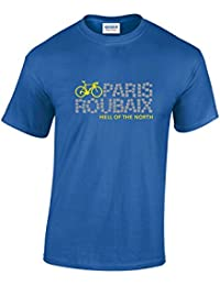 Paris Roubaix Hell Of The North Cycling T-Shirt