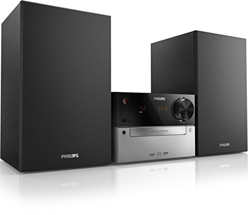Philips micro machine mcb2305/10  sistema audio, fm, digital, nero