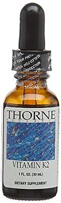 Vitamin K2, 1 fl oz (30 ml) by Thorne Research