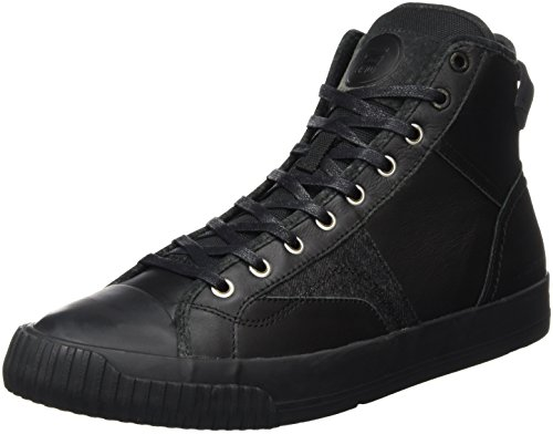 G-STAR Campus Scott Raw High, Scarpe da Ginnastica Alte Uomo, Nero (Black 990), 44 EU
