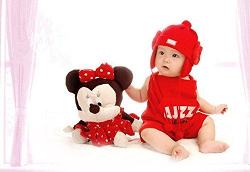 Cute Baby Newborn Infant handgefertigt Crochet Beanie Mütze Baseball Uniform Style Baby Kleidung fotografiert Zubehör, Cartoon Fashion Kinder Fotografie Requisiten Foto Requisiten Kostüm Kleidung tragen (geeignet für Babys 0–46Monate zu tragen) (Uniformen Jungen Baseball)
