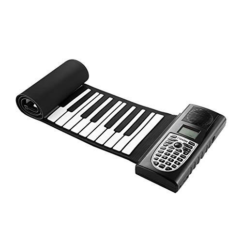 NUYI Band 49 Schlüssel Klaviertastatur für Erwachsene Anfänger Piano-Roll-Geschenke