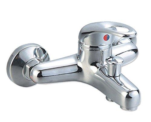 Badewannenarmatur mit Handbrause (Brauseschlauch) | Wannen Armatur | Einhebelmischer mit Handbrause | Badarmatur | Wasserhahn | Badewanne | Badezimmerarmatur |
