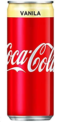 Coca Cola Vanilla 320ml Can (6)