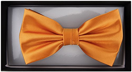 TigerTie - Nœud papillon - Uni - Homme Orange