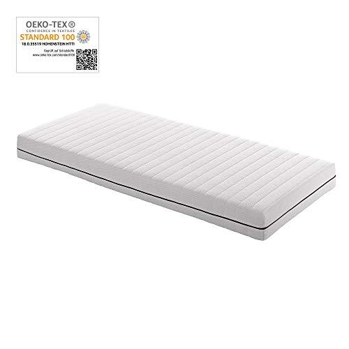 Betten ABC 7 Zonen Matratze OrthoMatra KSP-500 - Das Original / Orthopädische Kaltschaummatratze Härtegrad H3 in 140 x 200 cm - auch für Allergiker geeignet