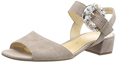 Gabor Shoes Gabor Fashion, Sandales Bride Cheville Femme, (Antikrosa), 41 EU