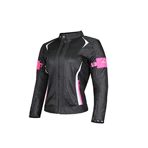XuBa - Conjunto de Chaqueta y Pantalones de Moto Transpirable para Hombre...