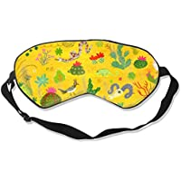 Natural Silk Eyes Mask Sleep Animal Cactus Blindfold Eyeshade with Adjustable for Travel,Nap,Meditation,Sleeping... preisvergleich bei billige-tabletten.eu