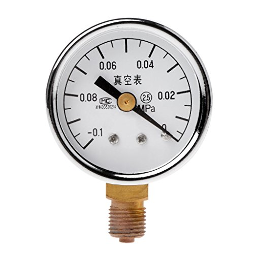 Qiman YZ-40-0.1-0MPa Analog Regelmäßige Vakuum Manometer Luft Manometer Universal Manometer -