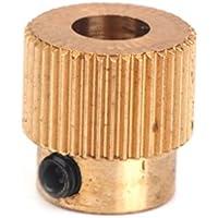 Sistema electrónico de extrusión de 40 bocado de cobre de 5 mm de ondas para 3D impresora de 1,75 mm Filament