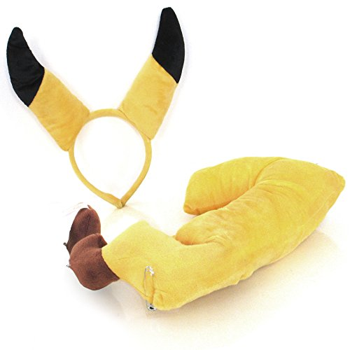 nz und Haarreif mit Ohren Set Fasching Kostüm Tier cosplay (Schwein Ohr Kostüm)