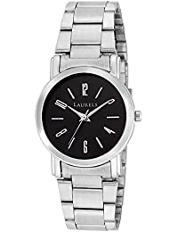 Laurels Soviet Black Dial Analog Wrist Watch - For Women
