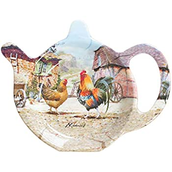 Cooksmart Farmers Kitchen Tea Bag Tidy Chicken
