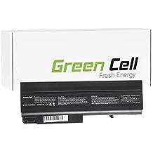 Green Cell® Extended Serie Laptop Akku für HP Compaq 6710b 6710s 6715b 6715s 6910p nc6120 nc6220 nc6320 nc6400 nx6110 nx6310 (9 Zellen 6600mAh 11.1V Schwarz)