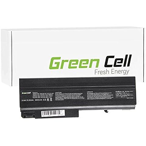 Green Cell® Extended Serie Portátil Batería para HP Compaq 6910p Ordenador (6600mAh)