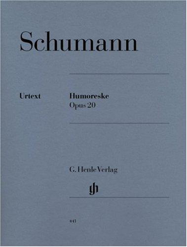 Humoresque Op.20 Sib Maj. - Piano