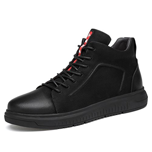 XIGUAFR Chaussure en Cuir Homme Printemps Basse Antidérapant Chaussure au Loisir de Randonnée Résistant à L'Usure