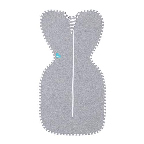 Love To Dream Gigoteuse d'emmaillotage Swaddle UP - Gris 6-8,5 kg