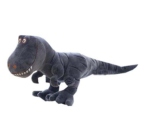 40cm Geschenke International T-Rex Soft Dinosaurier Plüschtier (klein, grau)
