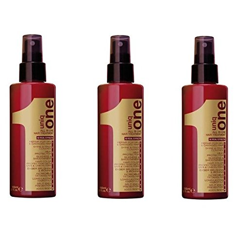 3 x Uniq All in One Hair Treatment 150 ml.