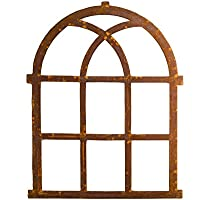 Nostalgie Stallfenster Fenster 72x58cm Eisen Gusseisen antik Stil Rost Rahmen