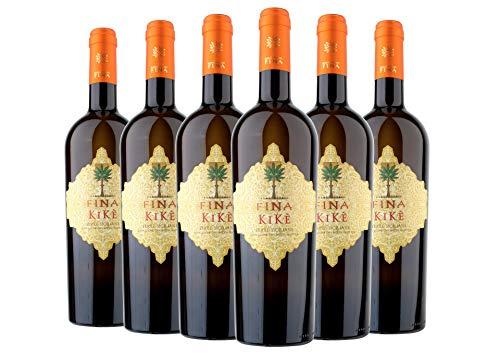 Terre Siciliane IGT Traminer Aromatico Sauvignon Blanc Kikè box da 6 bottiglie Cantine Fina 2018 0,75 L