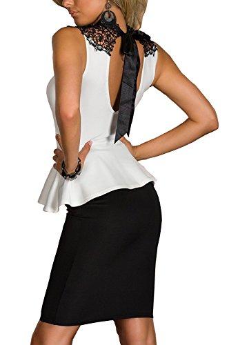 Boliyda Vestito casuale dal vestito da sera basso del ribattino del Bodycan  del corpo sottile del ribattino per le donne 8c876acb8d6