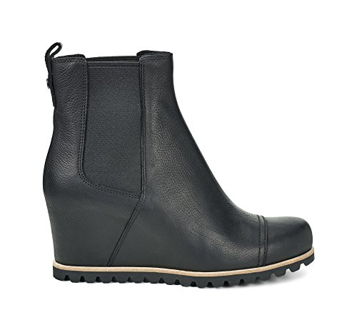 Ugg Australia Womens Pax Leather Boots Black