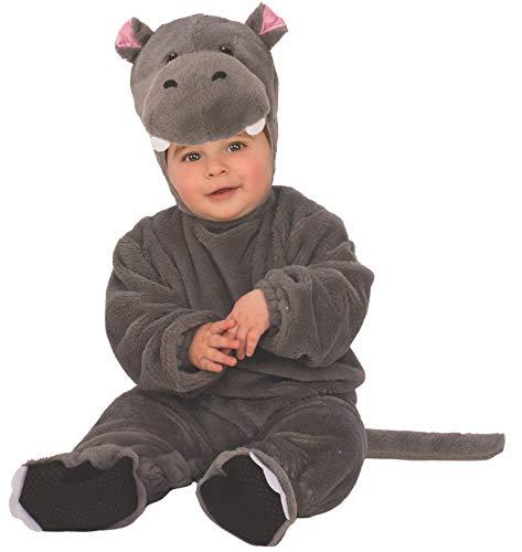 Baby Kostüm Nilpferd - Arche Noah Kostüm Hipopotamo (Rubies 510560-T)