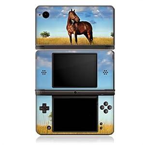 DeinDesign Skin kompatibel mit Nintendo DSi XL Folie Sticker Pferd Wiese Himmel