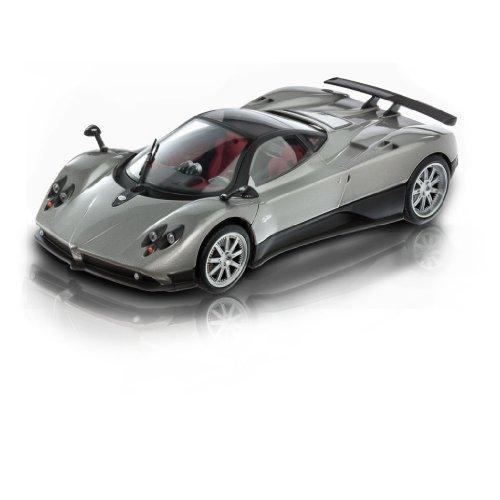 mondo-motors-50092w-voiture-miniature-pagani-zonda-f-gris-fonce-echelle-1-18